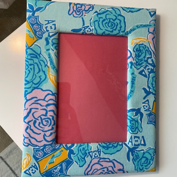 Alpha Xi Delta Lilly Pulitzer picture frame